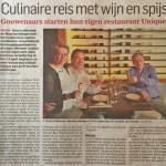 Restaurant Unique Algemeen Dagblad